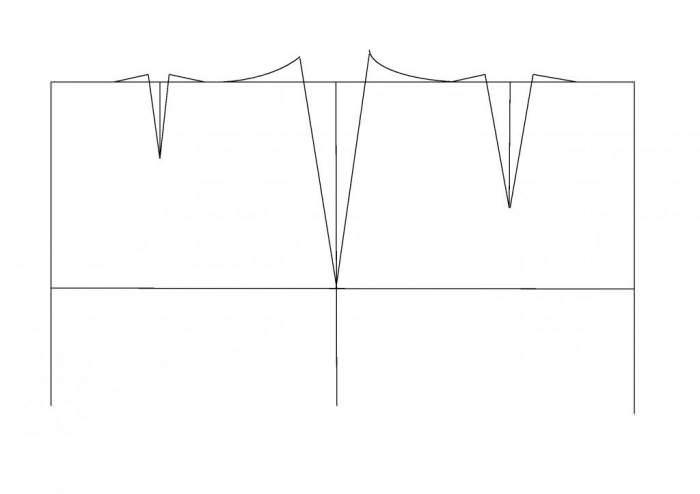 Побудова креслення викрійки прямої спідниці закінчено c074298d8ecc4